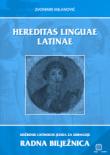 HEREDITAS LINGUAE LATINAE : radna bilježnica latinskog jezika za 1. i 2. razred gimnazije
