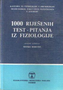 1000 riješenih test-pitanja iz fiziologije