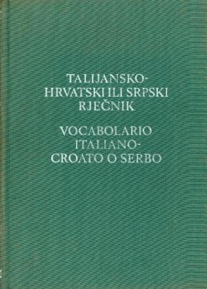 Talijansko-hrvatski ili srpski rječnik