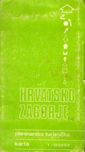 Hrvatsko Zagorje: planinarsko-turistička karta