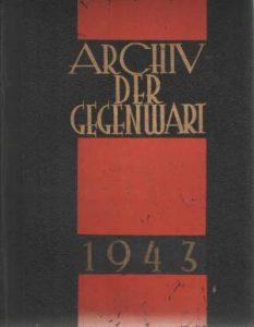 Archiv der Gegenwart 1943