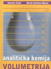 Analitička kemija - Volumetrija