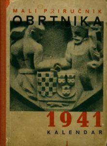 Mali priručnik obrtnika: kalendar 1941.