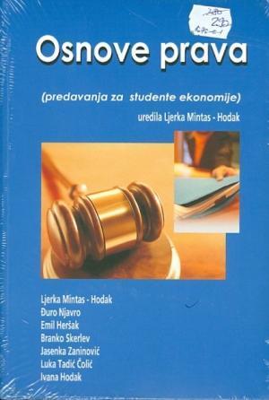 Osnove prava (predavanja za studente ekonomije)