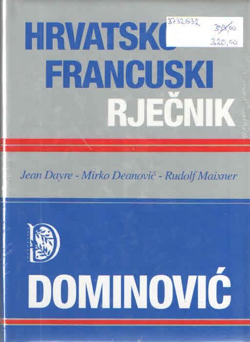 Hrvatsko-francuski rječnik