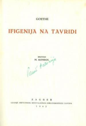Ifigenija na Tavridi