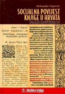 Socijalna povijest knjige u Hrvata