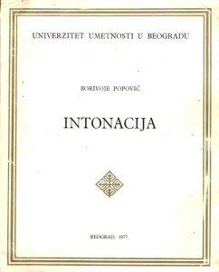 Intonacija