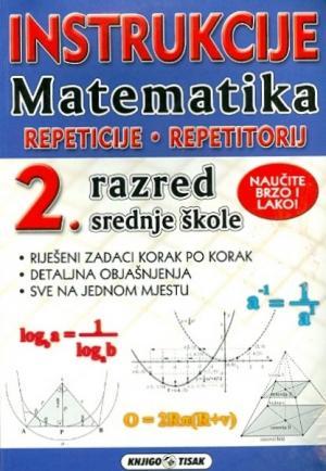 Instrukcije - Matematika: 2 razred srednjih škola