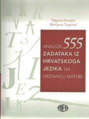 Analiza 555 zadataka iz hrvatskoga jezika na državnoj maturi