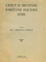 Crtice iz hrvatske književne kulture Istre