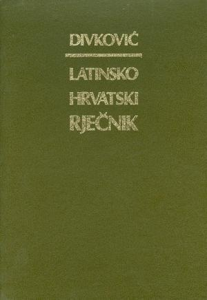 Latinsko-hrvatski rječnik