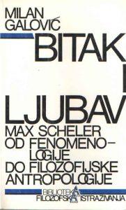 Bitak i ljubav: Max Scheler