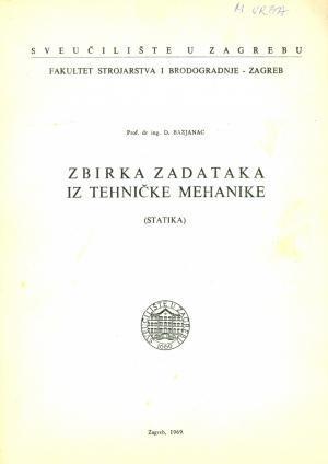 Zbirka zadataka iz tehničke mehanike (statika)