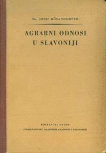 Agrarni odnosi u Slavoniji