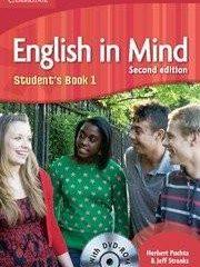 ENGLISH IN MIND 1 : Student's Book 1 with DVD-ROM: za učenje engl. kao 1. str. jez. u 3.-god. i 2. str. jezika u 4.god. strukovnim školama