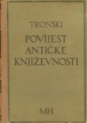 Povijest antičke književnosti