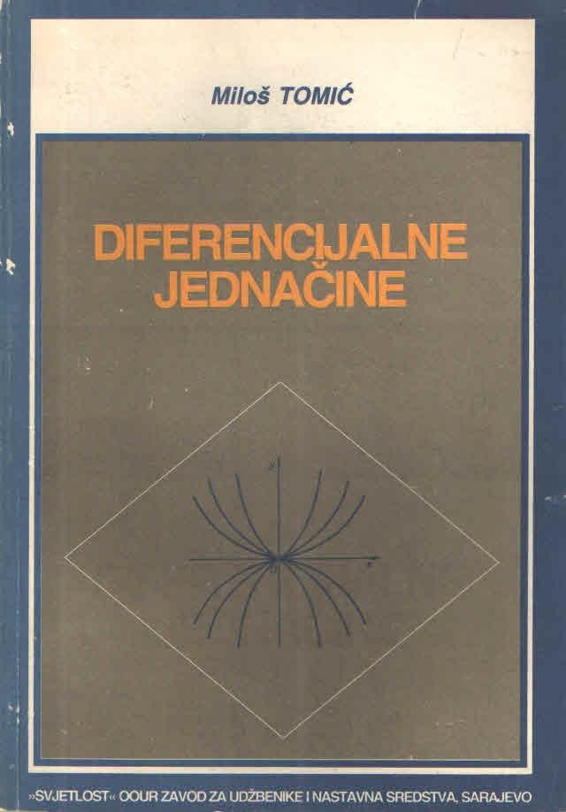 Diferencijalne jednačine
