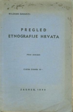 Pregled etnografije Hrvata