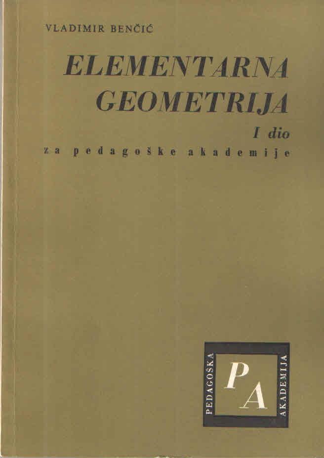 Elementarna geometrija I. dio