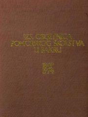125. obljetnica pomorskog školstva u Bakru 1849.-1974.