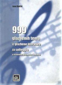 999 glazbenih tema iz glazbene literature za solfeggio u nosnovnim glazbenim školama