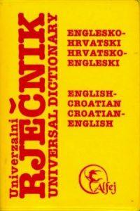 Univerzalni englesko-hrvatski i hrvatsko-engleski rječnik