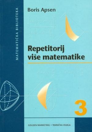 Repetitorij više matematike 3