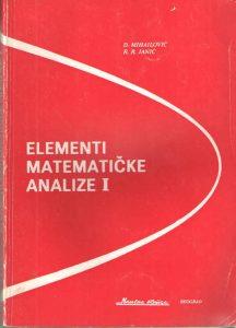 Elementi matematičke analize I