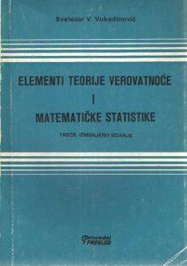 Elementi teorije verovatnoće i matematičke statistike