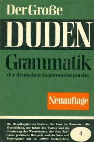 Der Grosse Duden Gramatik