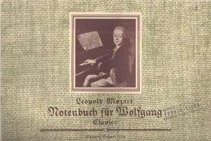 Notenbuch für Wolfgang