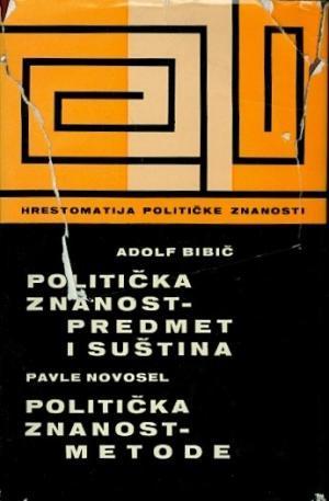 Politička znanost: preedmet i suština; Politička znanost: metode