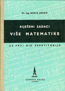 Riješeni zadaci više matematike uz prvi dio repetitorija