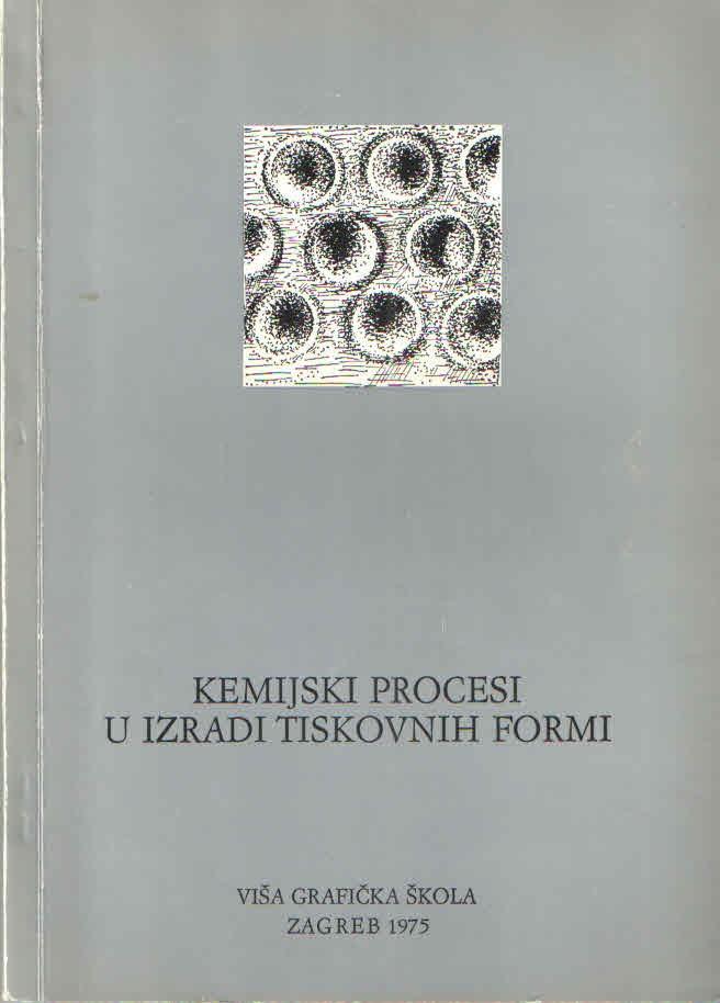 Kemijski procesi u izradi tiskovnih formi