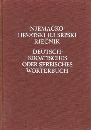 Njemačko-hrvatski ili srpski rječnik