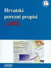 Hrvatski porezni propisi u 2007.