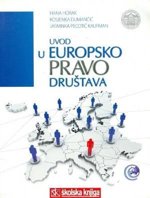 Uvod u europsko pravo društava (tvrdi uvez)
