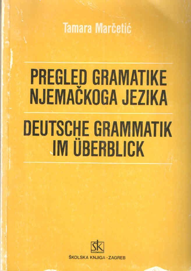 Pregled gramatike njemačkoga jezika