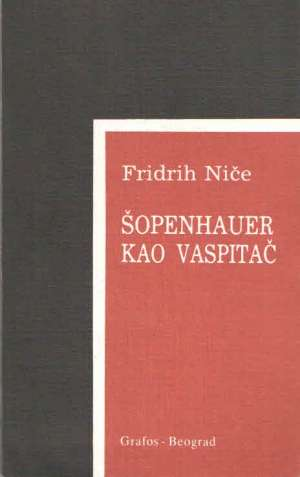 Šopenhauer kao vaspitač