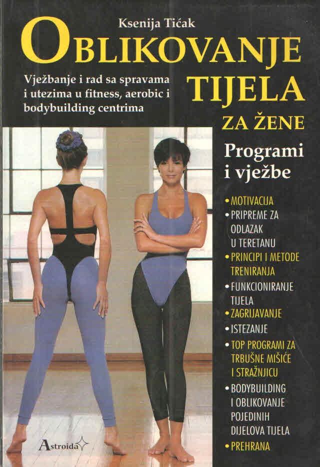 Oblikovanje tijela za žene - Programi i vježbe