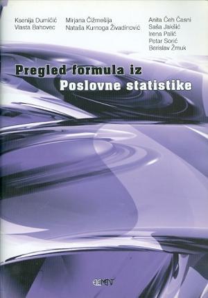 Pregled formula iz poslovne statistike