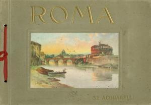 Ricordo di Roma (32 acquarelli)