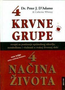 4 krvne grupe 4 načina života