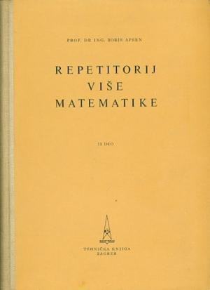 Repetitorij više matematike II dio