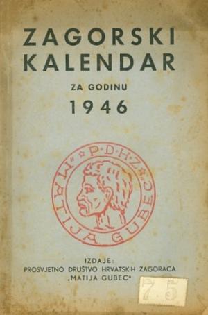 Zagorski kalendar za godinu 1946