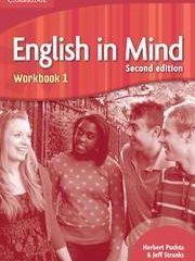ENGLISH IN MIND 1 :  Workbook 1: za učenje engleskog kao 1. str. Jez. u 3.-god. i 2. str. jez u 4.god. strukovnim školama