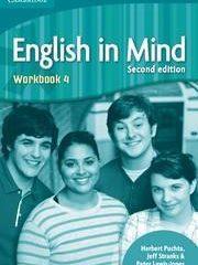 ENGLISH IN MIND 4 : Workbook 4