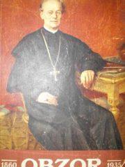 Obzor: spomen - knjiga 1860-1935