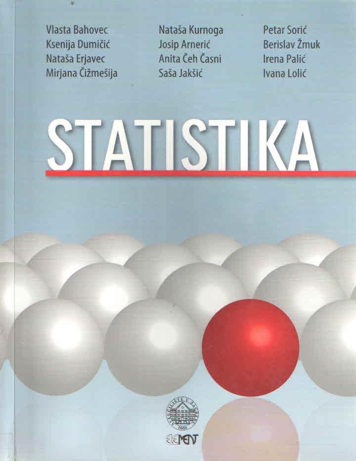 Statistika: udžbenik i pregled formula